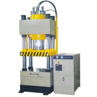 100吨三梁四柱油压机