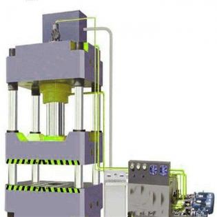 200吨三梁四柱通用液压机